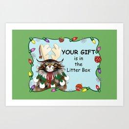 The Christmas Gift Art Print