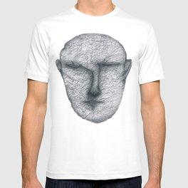 From dark T-shirt