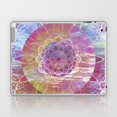 Glitch Mandala Laptop & iPad Skin