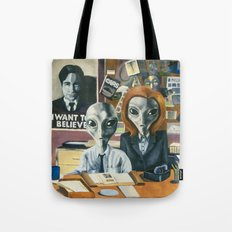 X-Files - Agent Grey Tote Bag