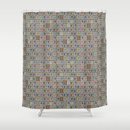 Gimme Some Tongue Shower Curtain