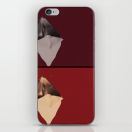 Where can one paper boat go? (Calm after the storm) iPhone Skin