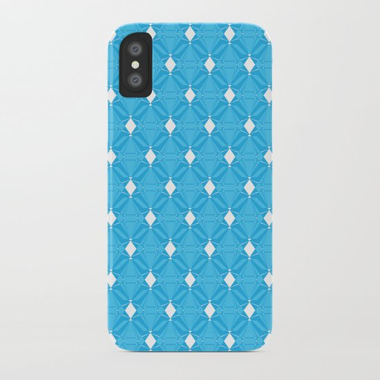 Abstract [BLUE] Emeralds iPhone Case
