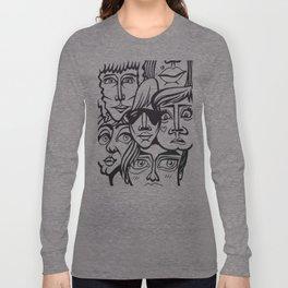 ヽ(゚▽゚*)乂(*゚▽゚)ノ Long Sleeve T-shirt