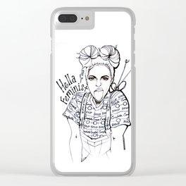 #STUKGIRL EMMA Clear iPhone Case