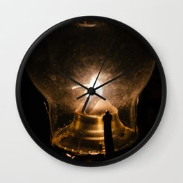 Lamplight Wall Clock