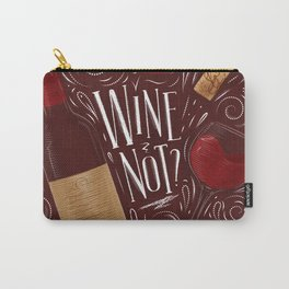 Wine not red Carry-All Pouch