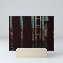 quick dip. Mini Art Print