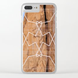 Moab III Clear iPhone Case