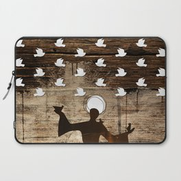 Saint Francis of Assisi Laptop Sleeve