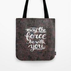The Force - Red and Black Tote Bag