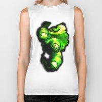 hulk Biker Tanks featuring Hulk by Juliana Rojas | Puchu