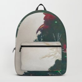 Christmas Tree 5 #painting  Backpack