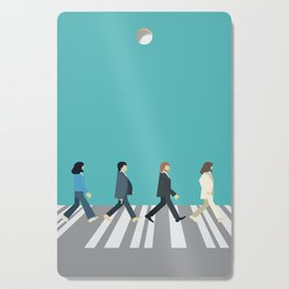 The tiny Abbey Road Cutting Board