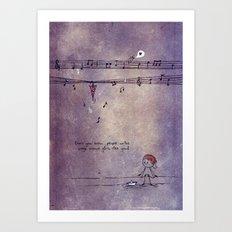 Unposted Letter -2 Art Print