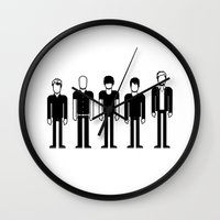 radiohead Wall Clocks featuring Radiohead by Band Land