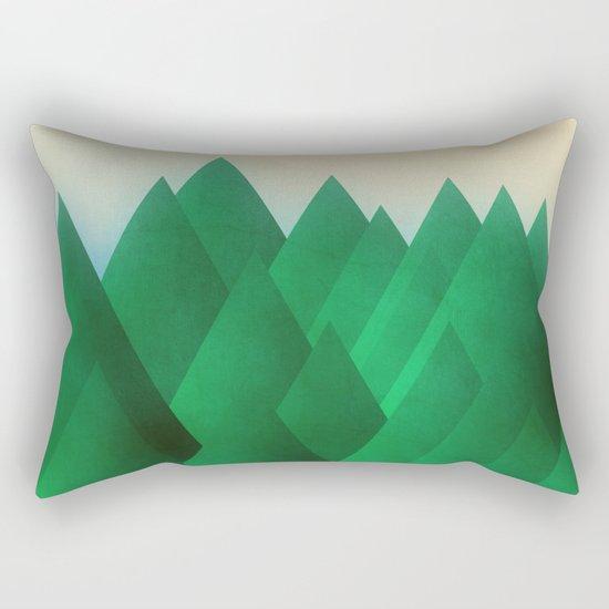 A Forest Rectangular Pillow