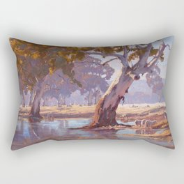 Summers rest Rectangular Pillow