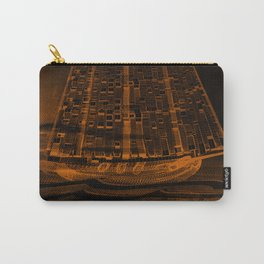 The Flying Dutchman / Legend, sepia Carry-All Pouch