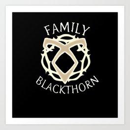 family blackthorn Art Print