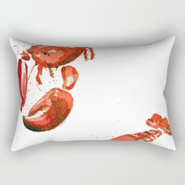 Greetings from Maine (No Text) Rectangular Pillow