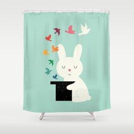 Magic Of Peace Shower Curtain