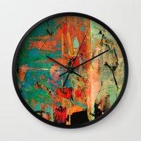 history Wall Clocks featuring Trojan Horse by Fernando Vieira