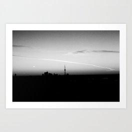 Toronto (Olympus Pen + Kodak BW 1ooTmax) Art Print