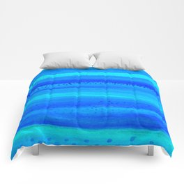 Blue Sky Blue Waters Comforters