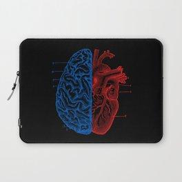 Heart and Brain Laptop Sleeve