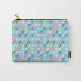 Playfull Houndstooth Carry-All Pouch