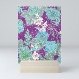 boho plum 2018 Mini Art Print