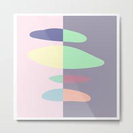 Color Mix 3 Metal Print