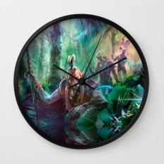 Into the Wilds Wall Clock