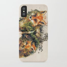 The Fox Nature Surrealism iPhone Case