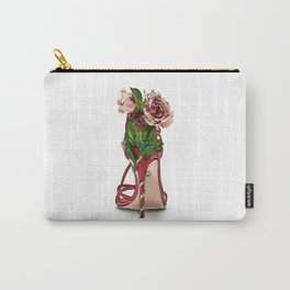 Hand-Drawn Shoe Illustration Carry-All Pouch