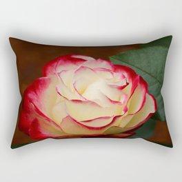 Cherry Parfait Rose Rectangular Pillow
