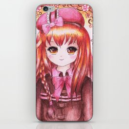 Anette iPhone Skin