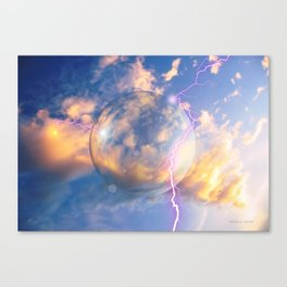 Unidentified Flying Orb Canvas Print