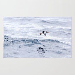 Puffin Flying Rug