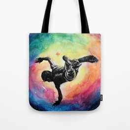 Jump into A Universe of infinite possibilities Tote Bag