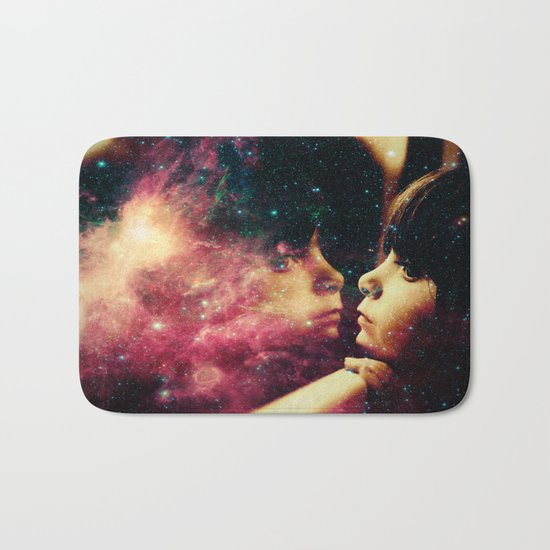 Face in the Space Bath Mat