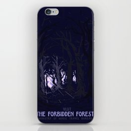 Visit The Forbidden Forest iPhone Skin