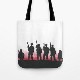 Soldiers Tote Bag