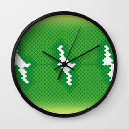 Emerald Tree Boa Wall Clock