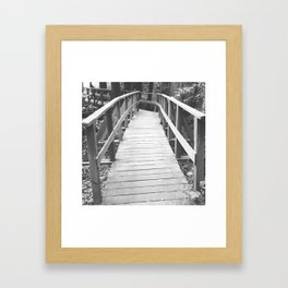 Old Bridge Framed Art Print