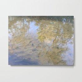 Creek Reflections Metal Print