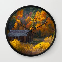 Hope Valley Fall Colors Festival, Sierra Nevada Wall Clock