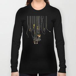 """Lili B. """"Entangled cat"""" Long Sleeve T-shirt"""
