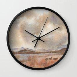 Graze On Wall Clock